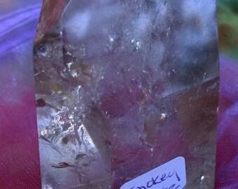 """7 face 7oz Smoky Quartz Crystal Approx 2.8"""""""