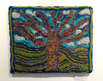 "Rug Hooking - ""The Trees Clothes"""