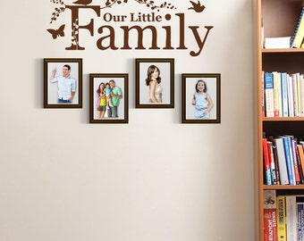 Our Little Family Wall Sticker