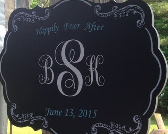 Chalkboard Wedding Gift