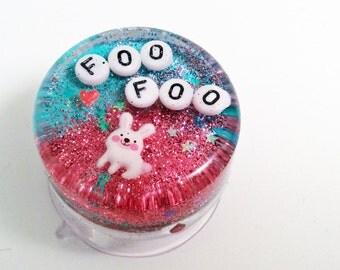 MADE TO ORDER: Weird Bathroom Decor - Bunny Foo Foo, Geekery Geek, Gift for Her, Bunny Birthday Gift, Bathroom Decor, Bathroom Wall Art