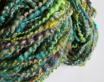 Handspun Merino Multi-Fiber Blend Yarn, 160 yds. (Free US Ship)