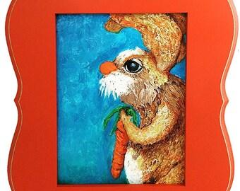 Mr. Longear - Framed Nursery Art
