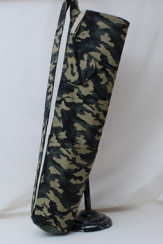 Made In Usa Camouflage Yoga Mat Bag With Detachable Matching