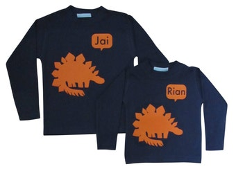 Big or Little Sibling T shirt Set