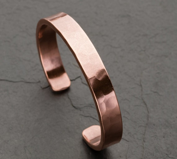 Men's or Women's Copper Cuff Bracelet