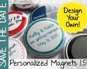 100 Save-the-Date-Magnets - Save the Date Magnet