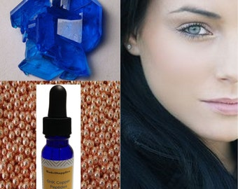 15 ml GHK-Cu Copper Peptide Fluid - 100% Ingredient for DIY Skin Serums, Creams, Lotions Peptides