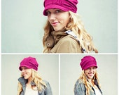 Slouch Hat -BRIGHT FUSCHIA
