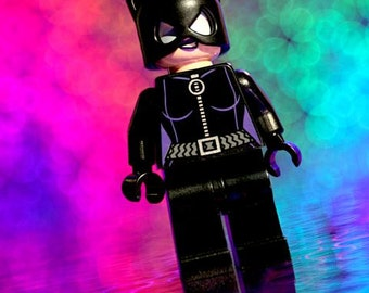 Catwoman Lego - Photograph - Various Sizes