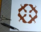 Anhinga Papercutting SPRING SALE