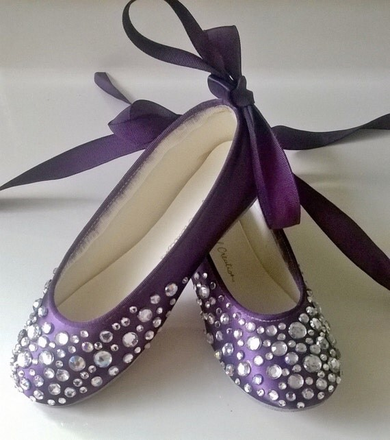 Purple Bling Wedding Shoes Bling Wedding Shoes