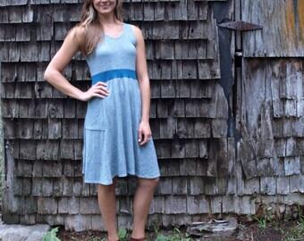 Rhonda Pocket Dress ~ Hemp & Organic Cotton ~ Made to Order