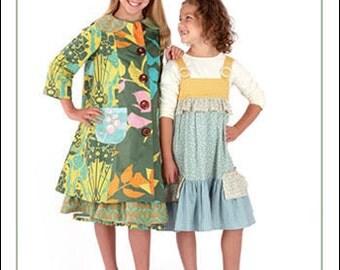 Indygo Junction IJ820 - Teatime Dress & Coat Pattern - Mary Ann Donze Design
