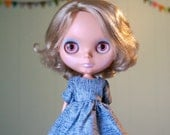 acid wash dress for blythe