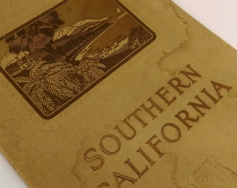 Antique Southern California Travel Booklet Union Pacific System Railway Advertising Souvenir