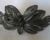 VINTAGE Hand Wired Silver Costume Jewelry Brooch