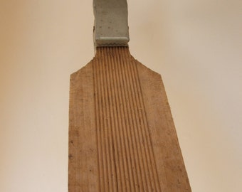 Vintage Rustic Fish Scaling Board