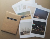 LA photograph, Los Angeles photography, print set, DTLA Hollywood beach, mini prints, I Love LA, Myan Soffia, gift set, California art