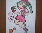 I got ya! - Bulma - print  8x5.5''