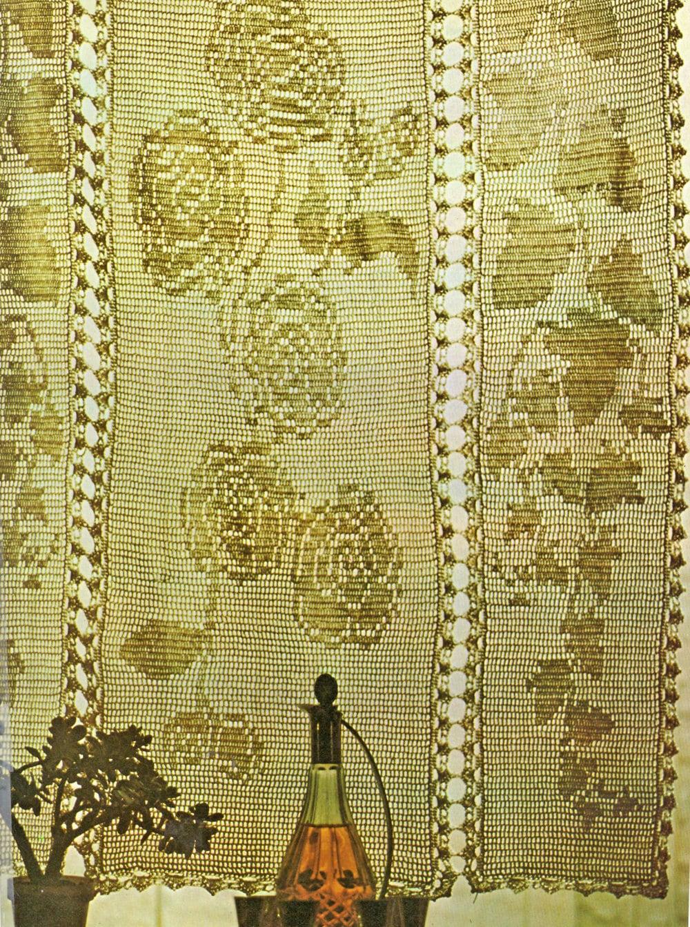 Filet Crochet Pattern Crochet Curtain Pattern Thread Crochet