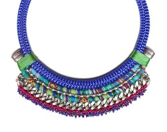 SALENTO ethnic statement necklace