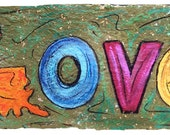 Louisiana LOVE- matted to fit 11x14 standard frame