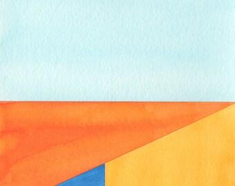 Original Abstract Art, Geometric Art, Abstract Modern Art, Contemporary Art
