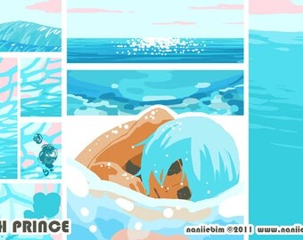 Jellyfish Prince comic