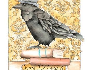 Dapper Raven