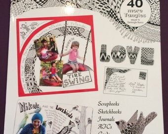 Zentangle Book 2 with 40 tangles