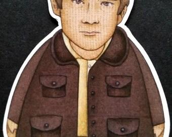 Martin Freeman as Dr. Watson - Sherlock Holmes Magnet