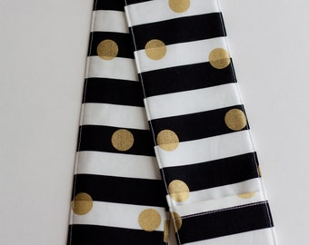 Camera Strap Cover - includes padding and lens cap pocket - White and Gold?
