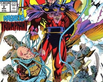 Issue 2 1991 X-Men Comic Book VF to NM-