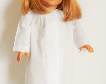 White graduation cap and gown fits American Girl