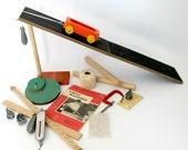 Vintage Science Kit Simple Machines Physics