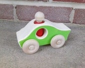 Wooden Toy Stock Car - a waldorf inspired racecar