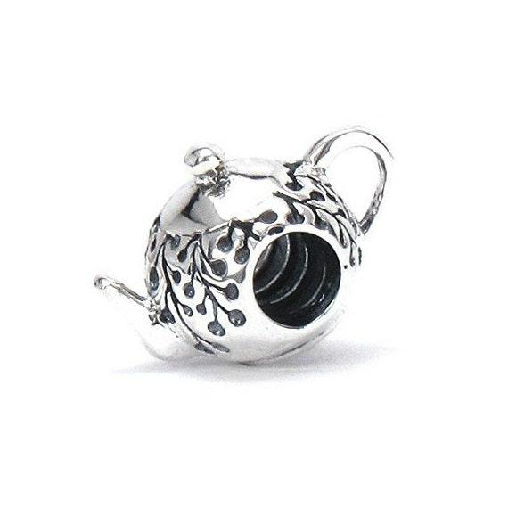 Persona Charm Bracelet: Bella Fascini MY LITTLE TEAPOT 925 Sterling By