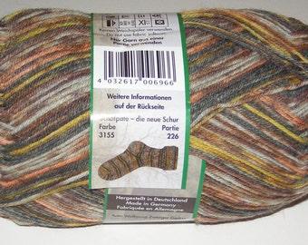 Opal Sock Yarn, 100g/465yd, Schafpate, #3155