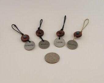 keychains jewel tones