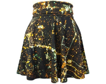 SLC Skater Skirt, Reversible Stripes, 70% OFF