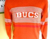 1970s Bucs Tampa Bay Buccaneers NFL vintage sweater - size medium