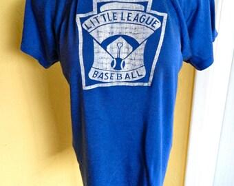 1970s Little League Baseball vintage tee shirt - size medium