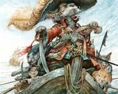 Captain Cur (print)