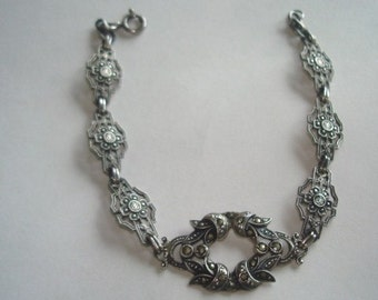 Sterling Marcasite 925  Bracelet
