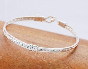 Sterling Silver Bracelet Bangle