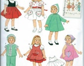 AMERICAN GIRL DOLL Sewing Pattern by Simplicity No.2454 Uncut