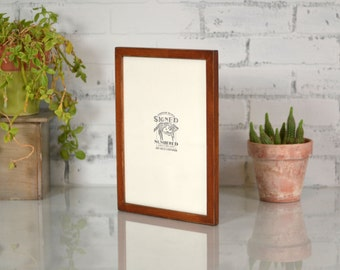 A4 Size Picture Frame in Peewee Style and Color of YOUR CHOICE  - Handmade Frame 210 x 297 mm - A4 Frame - 8.3 x 11.7 inches