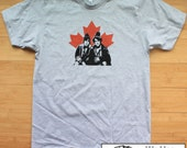 Strange Brew Bob and Doug McKenzie American Apparel T-Shirt. Must See.