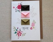 Mom Blossoms Mother's Day Card  - Tiny Envelopes Card